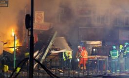 Five killed in building fire in central England