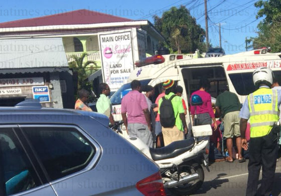 Nine year old injured in accident