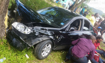 Media workers injured in accident