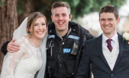 UK: Wedding photo shoot interrupted by police chase