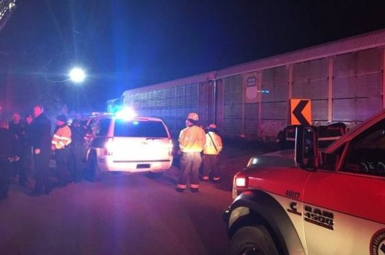 Two killed after trains collide in South Carolina