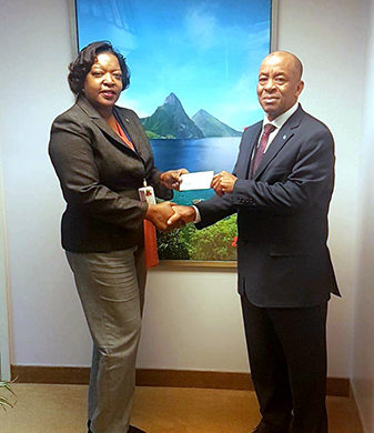 Connecticut-based Saint Lucian Organization donates to Dominica