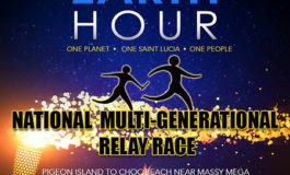 CYEN in Saint Lucia Earth Hour 2018 Celebration-'Connect2Earth' National Multi-Generational Relay Race