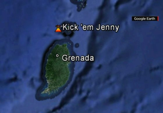 Barbados: Officials monitoring increase in alert level of Kick 'em Jenny