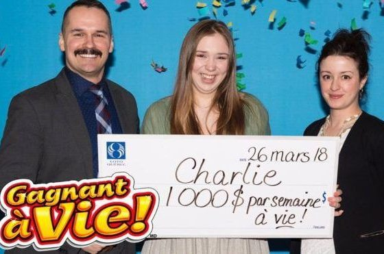Canada teen scores lottery win of $1,000, every week, for life