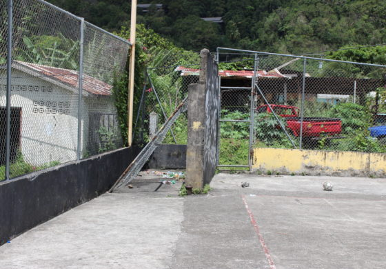 Soufriere Basketball Court to be Reinstated