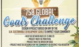 Saint Lucia National Youth Council calls for submissions for 758 Global Goals Challenge