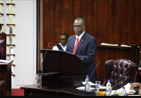 Response by Hon Philip J. Pierre to the Policy Statement April 4th, 2018