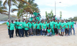 Coconut Bay Staff Conduct Massive Clean-Up for Earth Day