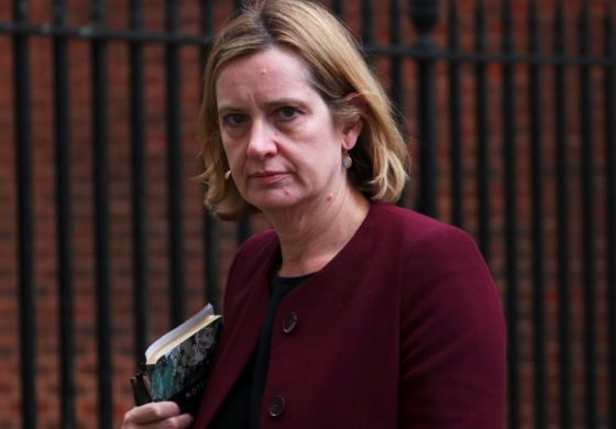 Home Secretary Amber Rudd quits
