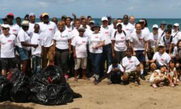 Taiwan-St. Lucia Clean-Up; It's Time for World Earth Day