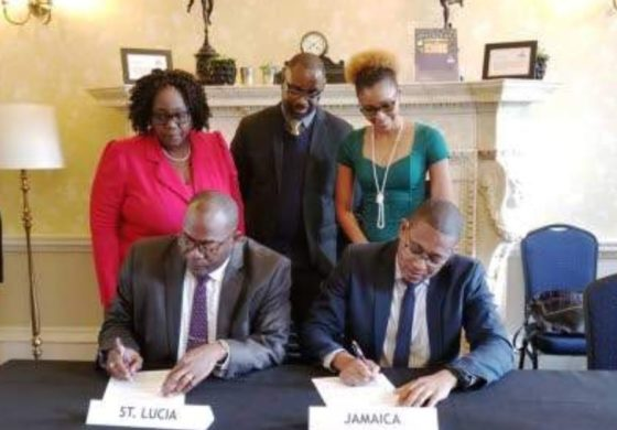Saint Lucia Signs Youth Exchange Agreement With Jamaica  St Lucia