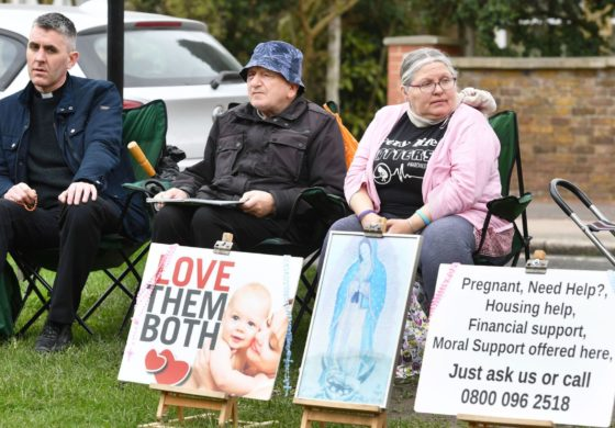 Pro-life campaigners banned from protesting outside clinic