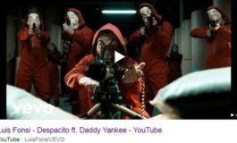 Despacito YouTube music video hacked