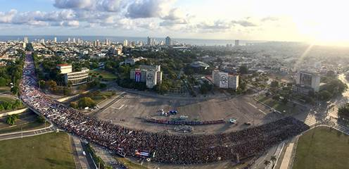 Cuba Celebrates May Day 2018