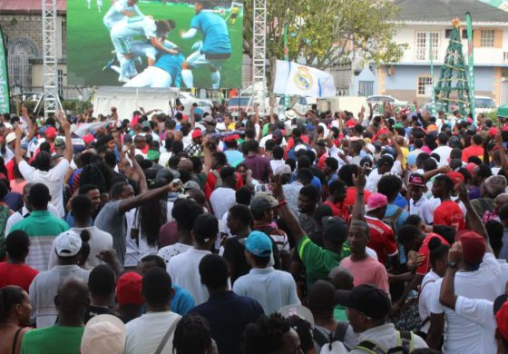 Football fans Celebrate at Heineken's UEFA Champions League Viewing Party!