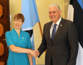 e-Government part of discussions between PM and Estonia President