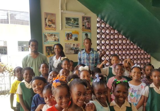 Castries Central Youth and Sports Council launches book drive