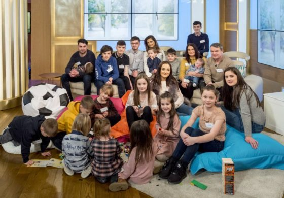 21st baby on the way in Britain's biggest family