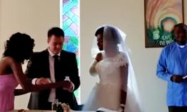 Woman who lost arm in crocodile attack gets married just five days later