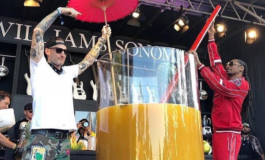 Snoop Dogg breaks record for largest gin and juice