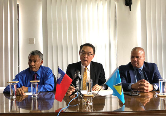 Taiwan Embassy supports Soufriere Hummingbird Beach Park Project