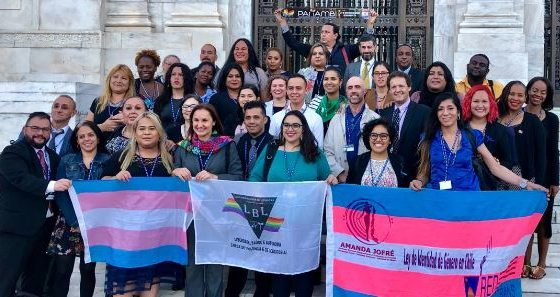 Recognition and protection of the human rights of LGTI persons reinforced at the OAS