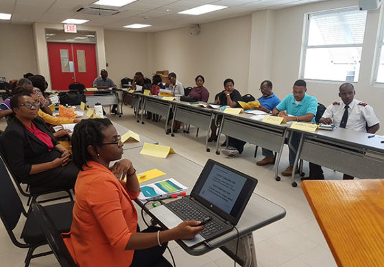 USAID/OFDA Stages Shelter Management Training ahead of Hurricane Season