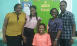 Sir Ira Simmons Secondary School Goes All Out for Reading Month