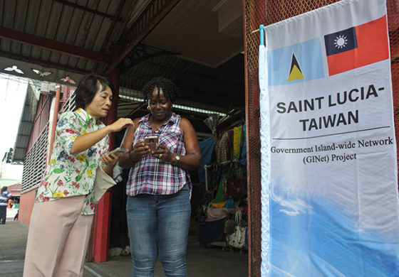 GINet Free WIFI Service Conducted an Online testing Operation in Castries