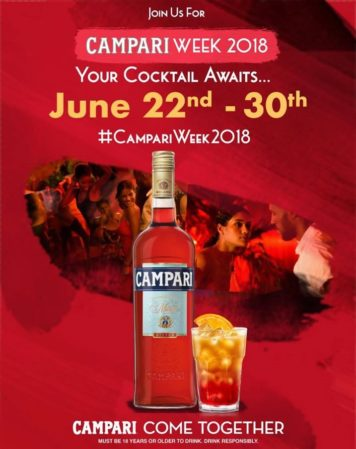 The Campari Week Promotional Poster
