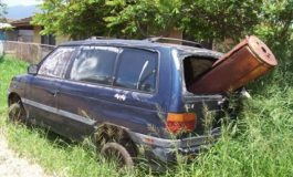 Derelict vehicles a concern for the Ministry of Health