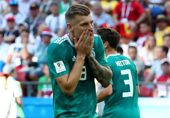 Germany crash out of World Cup
