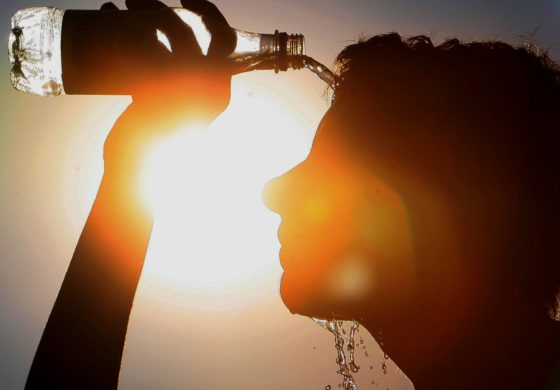 New record as heatwave bakes UK
