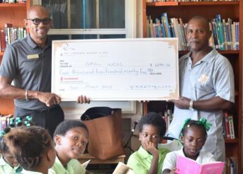 The Landings Resort and Spa Donates to Charity