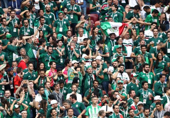 Mexico fans may have caused earthquake