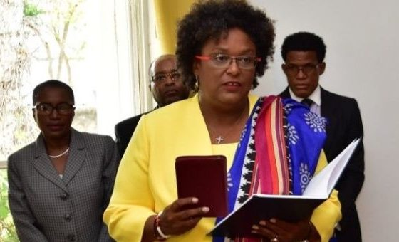 PM Mottley meets with IMF