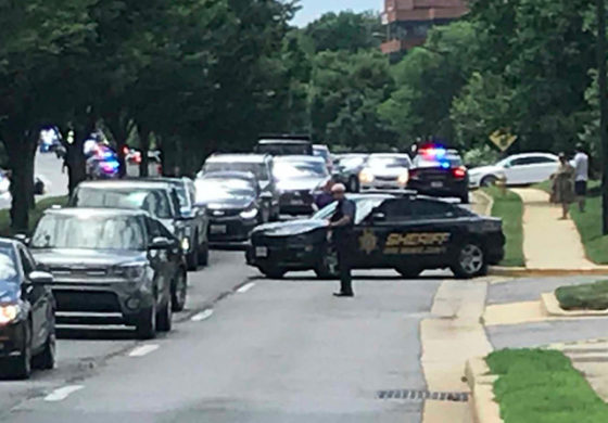 Multiple fatalities in US newspaper office shooting