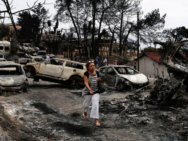 Greece wildfires: 74 dead in 'unspeakable tragedy' - St  Lucia Times
