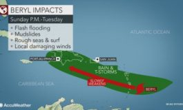 Tropical storm watch in effect for St. Lucia