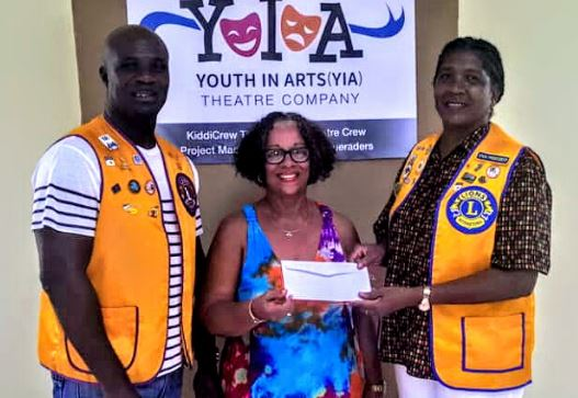 CASTRIES LIONS CLUB SUPPORTS KIDDICREW SUMMER PROGRAM