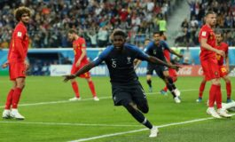 France beat Belgium to reach final in Russia