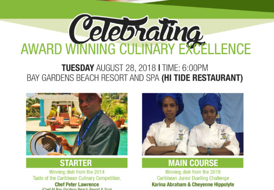 Bay Gardens Resorts Celebrates Award-Winning Culinary Excellence