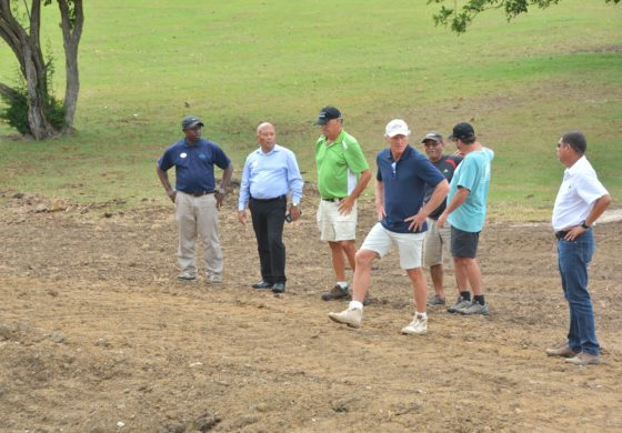 Greg Norman Pleased With Work at Sandals Golf Course