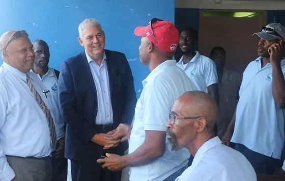 Prime Minister Meets the Workers of WASCO