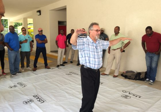 Plastic sheeting training for Caribbean
