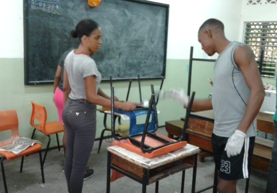Scholarship Holders Help Get Primary School Ready for New Term