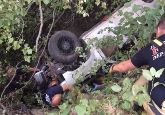 Man rescued after lying trapped under truck in Idaho for days