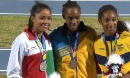 PM congratulates Levern Spencer on gold medal win