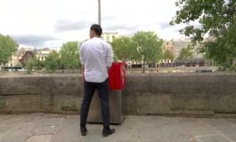 Paris residents peeved at eco-friendly urinals